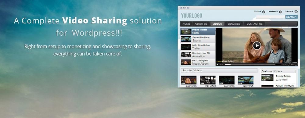 WordPress Video Gallery - Best YouTube and Vimeo Video